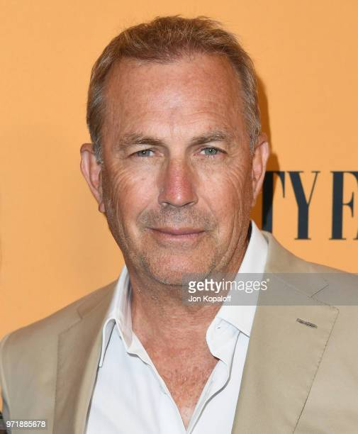 "Kevin Costner attends the premiere of Paramount Pictures' ""Yellowstone"" at Paramount Studios on June 11, 2018 in Hollywood, California."