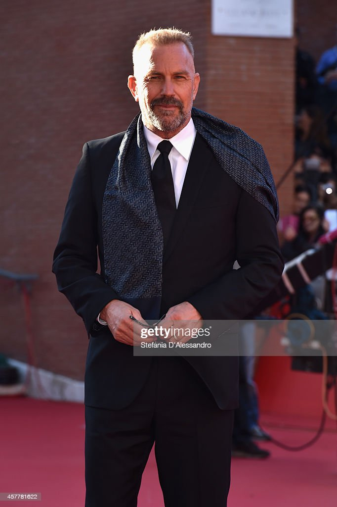 Kevin Costner On the Red Carpet - The 9th Rome Film Festival