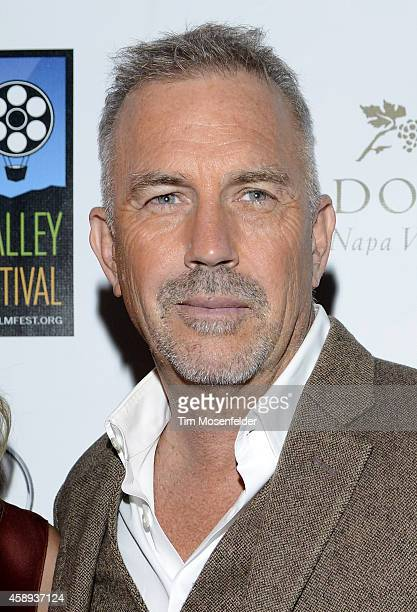 Kevin Costner attends the screening of 'Black or White' during the Napa Valley Film Festival on November 13 2014 in Napa California