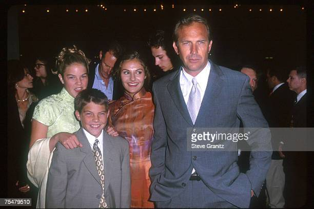 Kevin Costner Children Joe Annie Lily at the Cineplex Odeon in Century City California