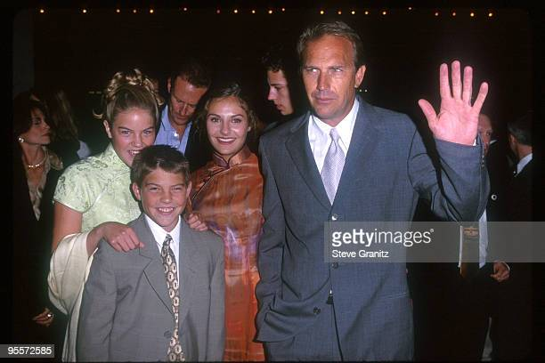 Kevin Costner Children Lily Annie Joe