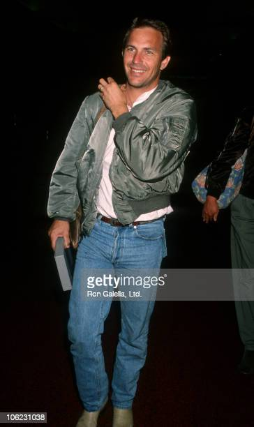 Kevin Costner during Kevin Costner Sighting at Los Angeles International Airport August 10 1990 at Los Angeles International Airport in Los Angeles...