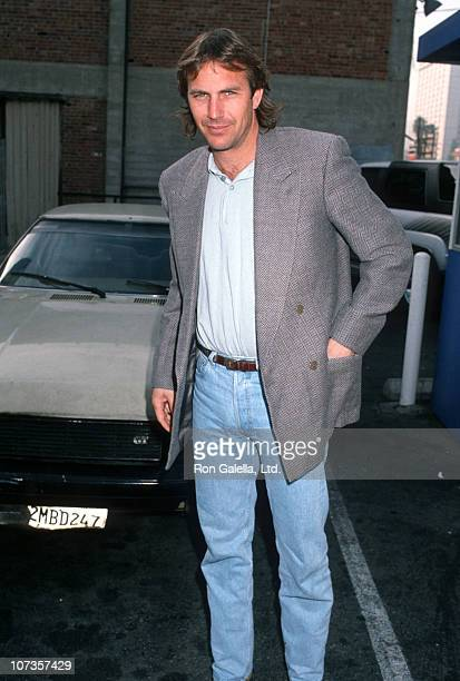 Kevin Costner during Kevin Costner Sighting at Musso and Frank Restaurant in Hollywood - January 11, 1990 at Musso and Frank Restaurant in Hollywood,...