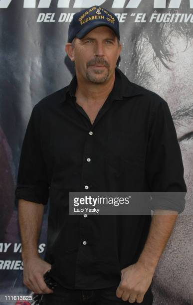 """Kevin Costner during """"The Guardian"""" Madrid Photocall at VillaMagna Hotel in Madrid, Spain."""