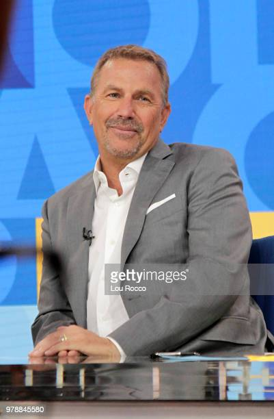 AMERICA Kevin Costner is a guest on Good Morning America on Tuesday June 19 2018 airing on the Walt Disney Television via Getty Images Television...