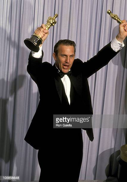 Kevin Costner winner of Best Picture and Best Director for Dances with Wolves