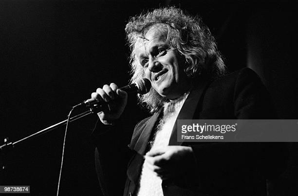 Kevin Coyne performs live at Melkweg in Amsterdam, Netherlands on November 10 1984