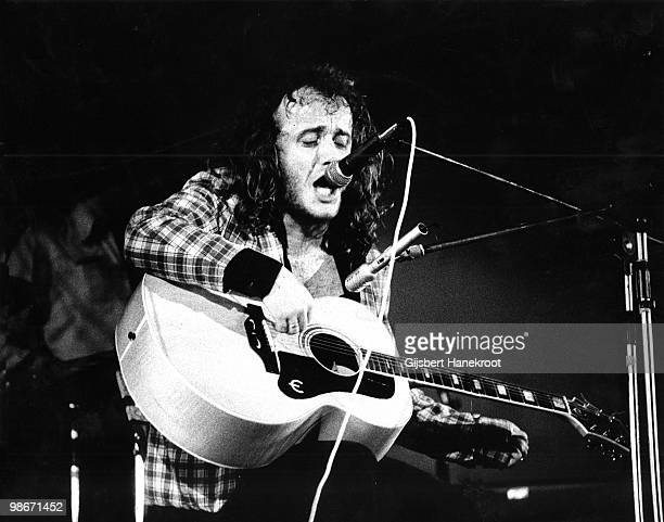 Kevin Coyne performs live on stage in Amsterdam Netherlands in 1974
