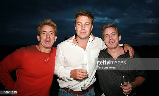 Kevin Cronin Cole Kalbacher and Paul Cronin during Hamptons Magazine's Cindi Cook and Cristina Cuomo Host Ruinart Champaign Experience with Kathy...