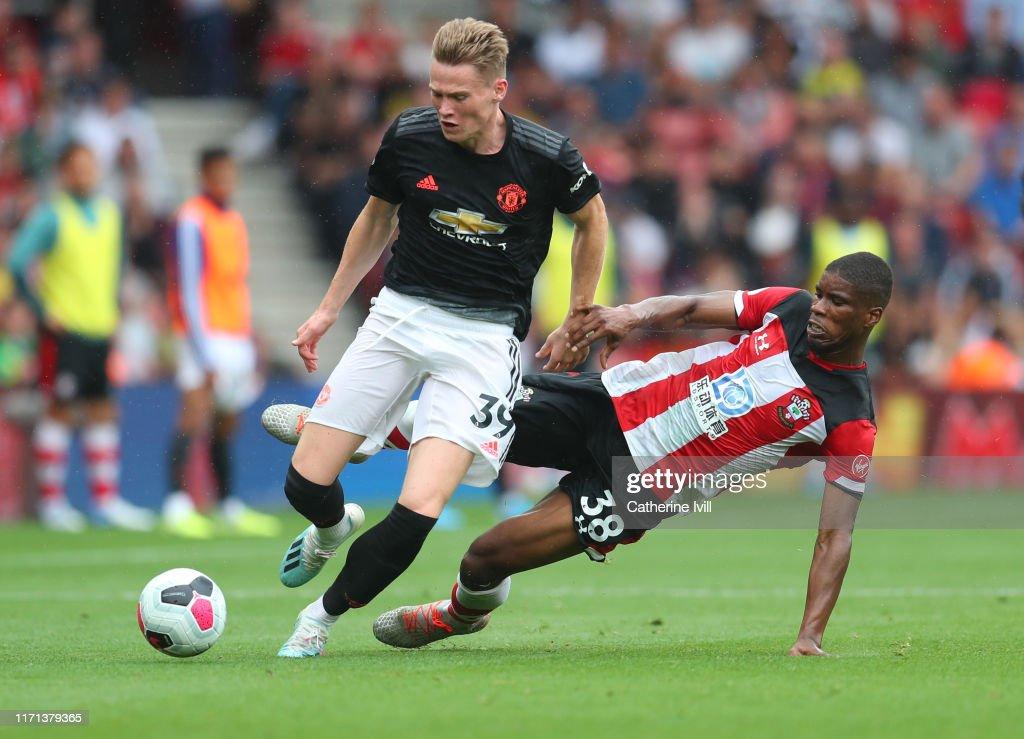 Southampton FC v Manchester United - Premier League : ニュース写真