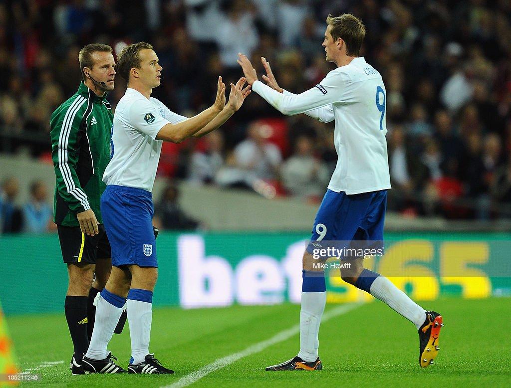 England v Montenegro - EURO 2012 Qualifier : News Photo