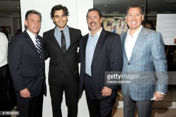 Kevin Dayton Jason Rogers Dana Sydney and Luis Strohmeier attend RIGHT TO PLAY 'En Garde' Charity Cocktail Party at Barneys New York on May 13 2010...