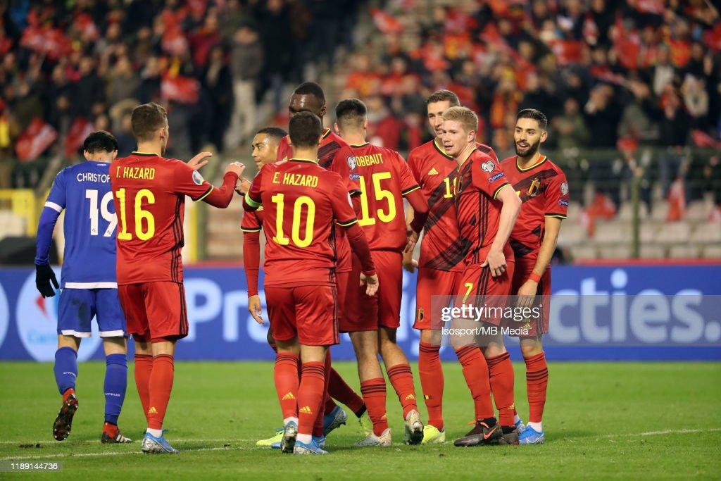 Belgium v Cyprus - UEFA Euro 2020 Qualifier : News Photo