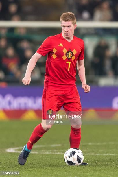 Kevin de Bruyne of Belgium during the friendly match between Belgium and Japan on November 14 2017 at the Jan Breydel stadium in Bruges Belgium