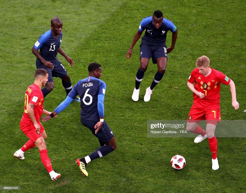 Belgium v France: Semi Final - 2018 FIFA World Cup Russia : News Photo