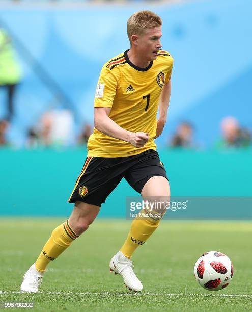 Kevin De Bruyne of Belgium is seen during the 2018 FIFA World Cup Russia 3rd Place Playoff match between Belgium and England at Saint Petersburg...