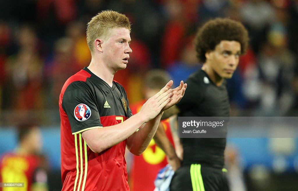 Belgium v Italy - Group E: UEFA Euro 2016 : News Photo