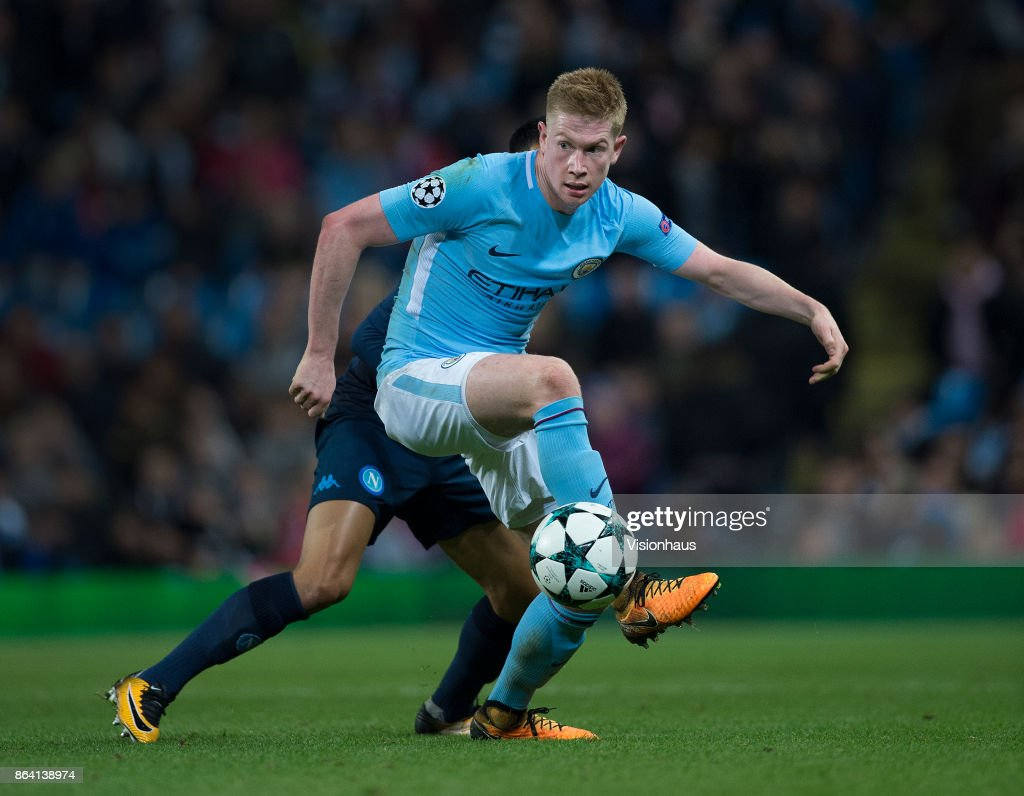Manchester City v SSC Napoli - UEFA Champions League : News Photo