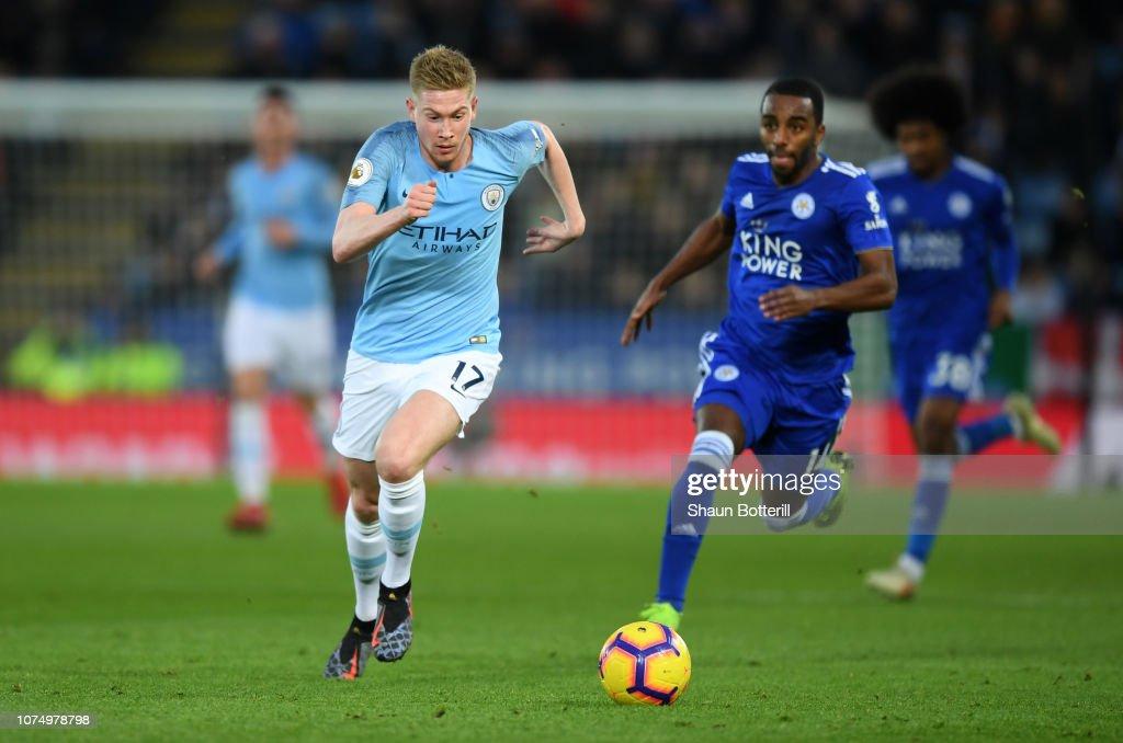 Leicester City v Manchester City - Premier League : News Photo