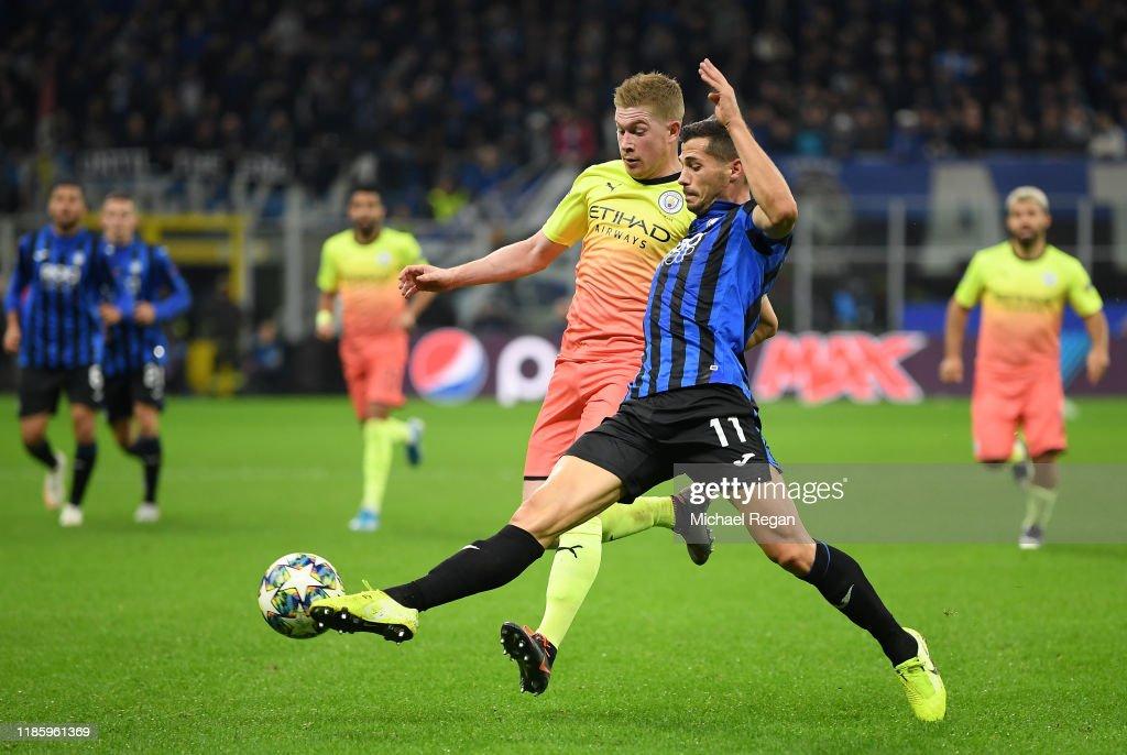 Atalanta v Manchester City: Group C - UEFA Champions League : Foto di attualità