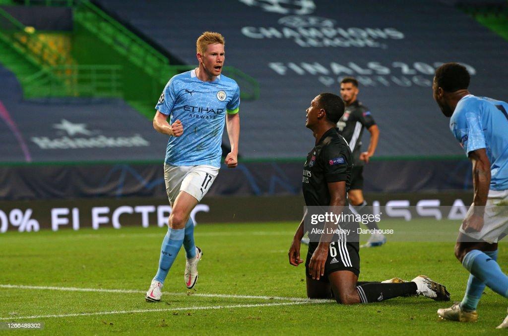 Manchester City v Lyon - UEFA Champions League Quarter Final : ニュース写真