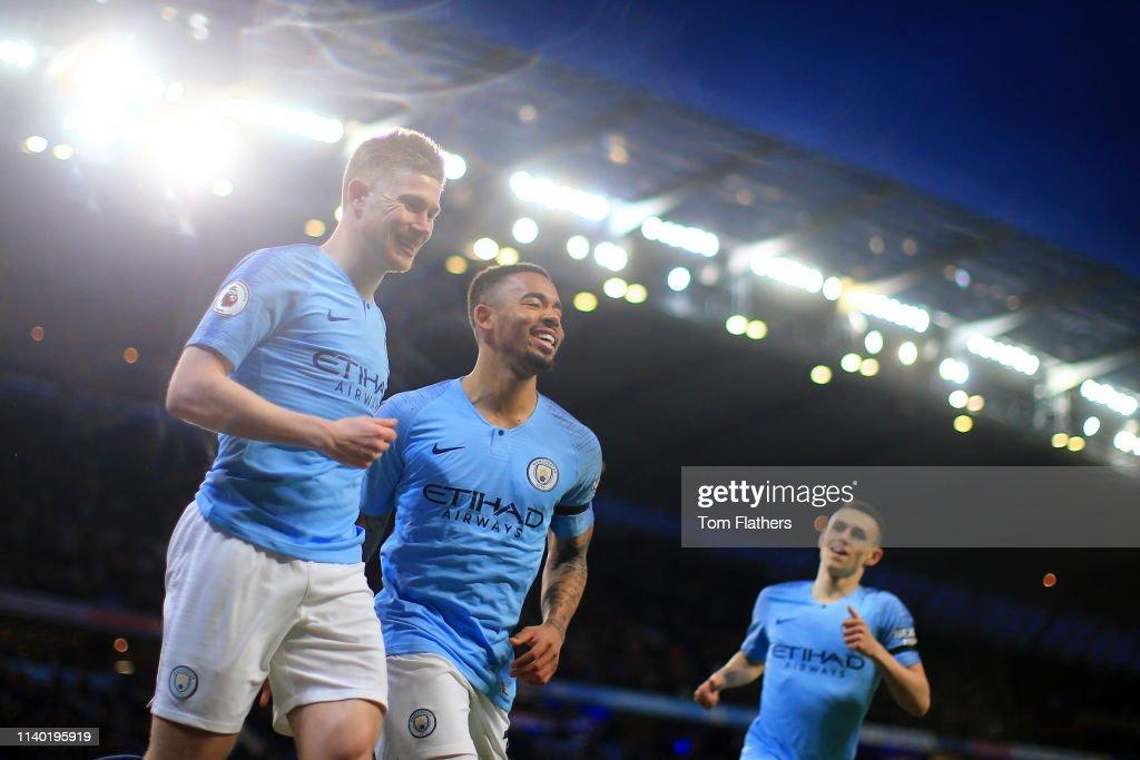 GBR: Manchester City v Cardiff City - Premier League