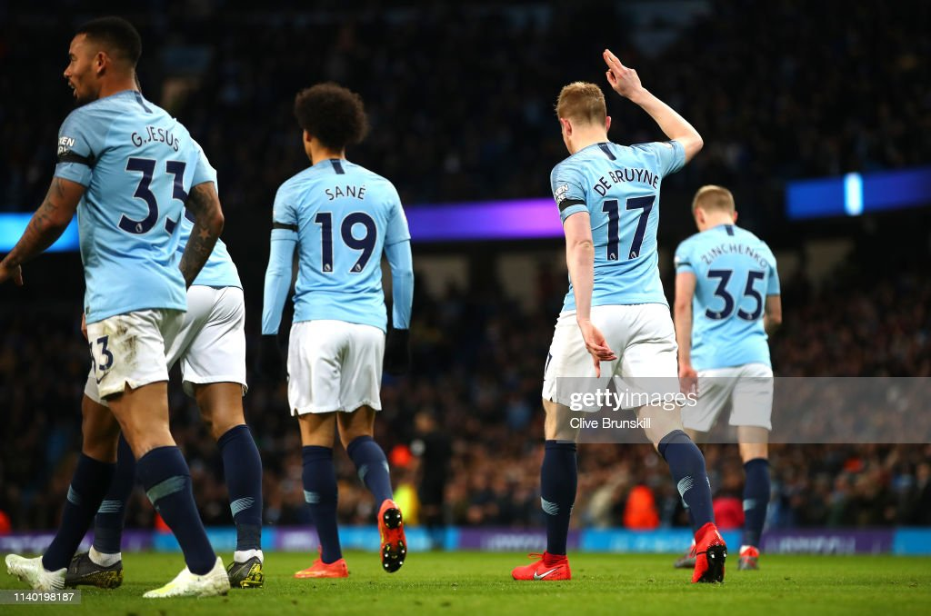 Manchester City v Cardiff City - Premier League : News Photo