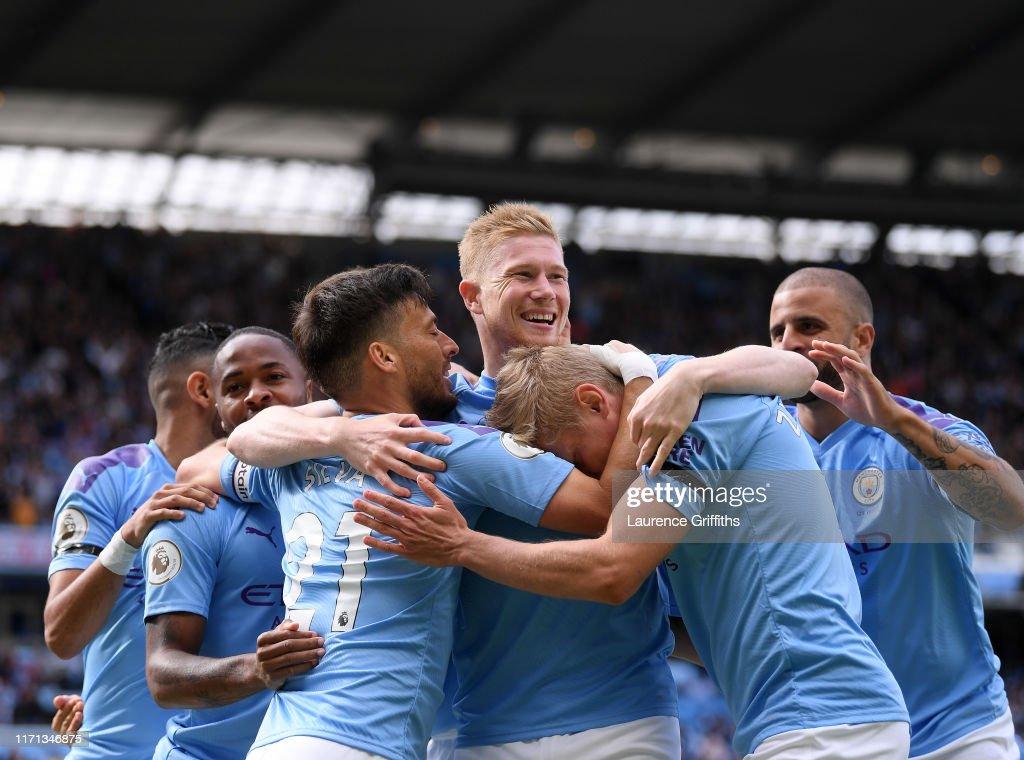 Manchester City v Brighton & Hove Albion - Premier League : News Photo