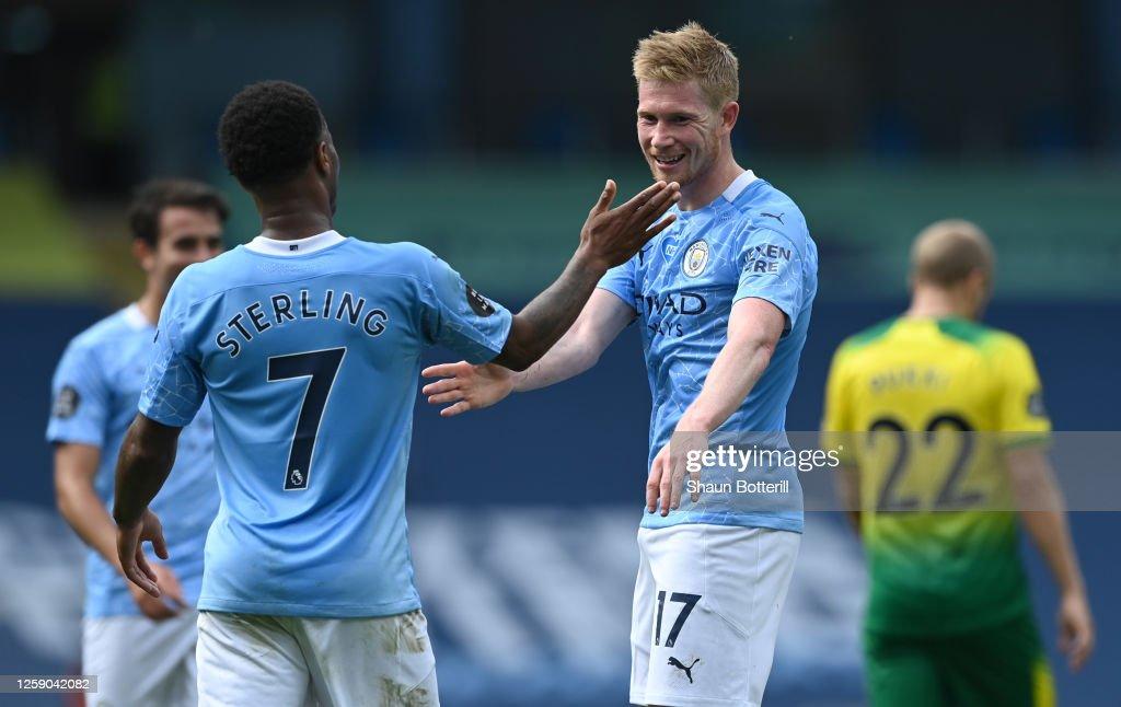 Manchester City v Norwich City - Premier League : ニュース写真
