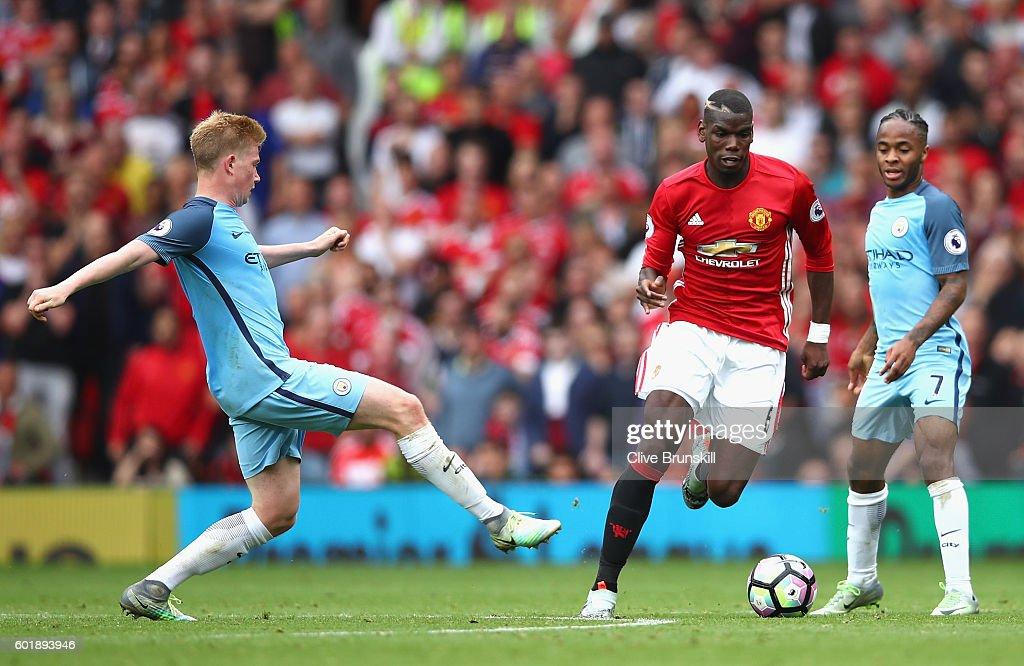 Manchester United v Manchester City - Premier League : Fotografía de noticias