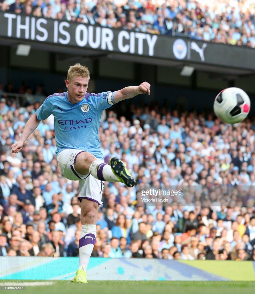 Manchester City v Tottenham Hotspur - Premier League : Nieuwsfoto's