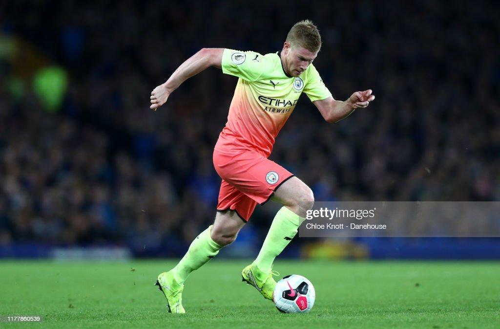Everton FC v Manchester City - Premier League : Foto jornalística