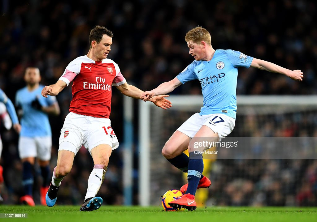 Manchester City v Arsenal FC - Premier League : News Photo