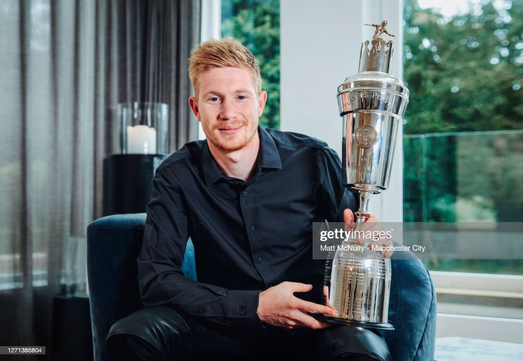 Kevin de Bruyne wins PFA Player of the Year Award : ニュース写真