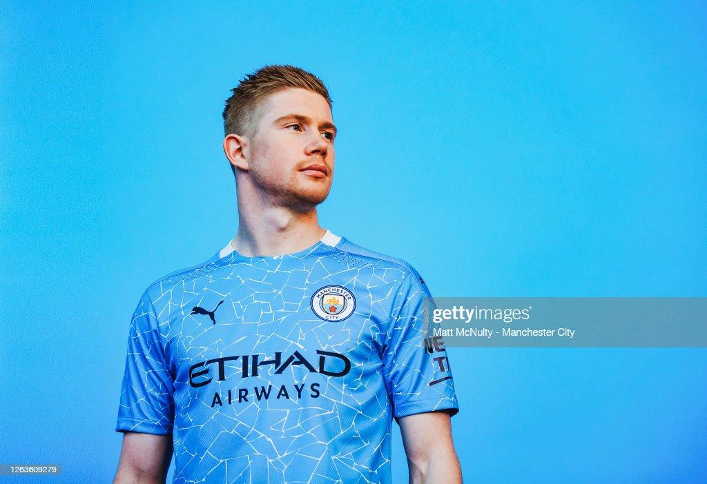 Manchester City Puma Kit Launch : Nieuwsfoto's