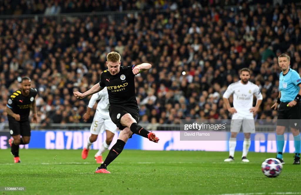 Real Madrid v Manchester City - UEFA Champions League Round of 16: First Leg : ニュース写真