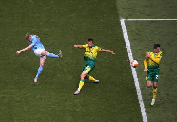 GBR: Manchester City v Norwich City - Premier League