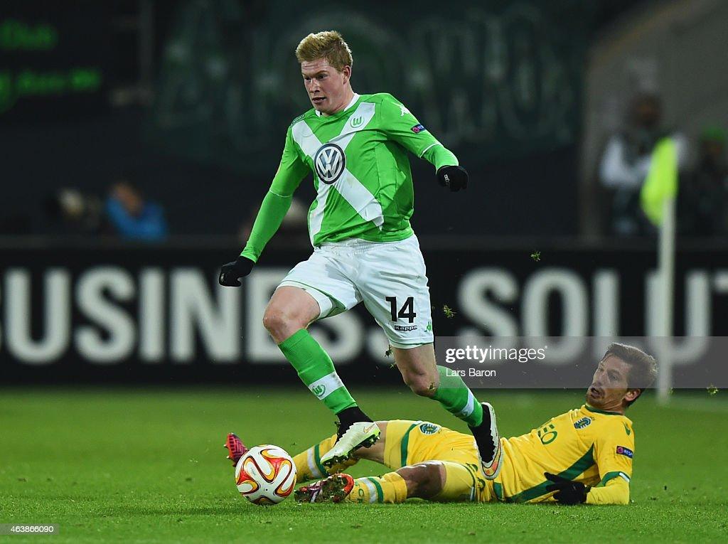VfL Wolfsburg v Sporting Lisbon - UEFA Europa League Round of 32 : News Photo