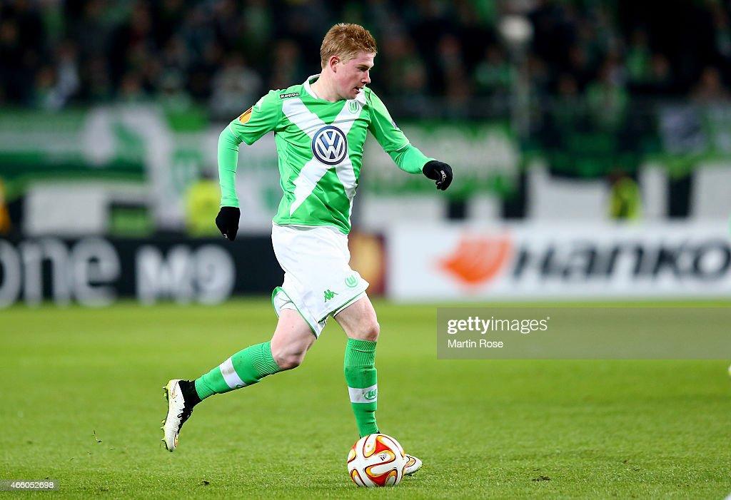 VfL Wolfsburg v FC Internazionale Milano - UEFA Europa League Round of 16 : News Photo