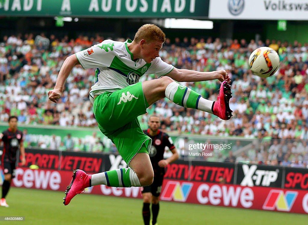 VfL Wolfsburg v Eintracht Frankfurt - Bundesliga : News Photo