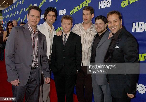 Kevin Dillon, Adrian Grenier, Kevin Connolly, Doug Ellin, Jerry Ferrara, and Jeremy Piven