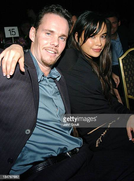 Kevin Dillon and Jane Stewart during The Lili Claire Foundation's 7th Annual Benefit Gala Hosted by Matthew Perry - Show and Audience at Century...