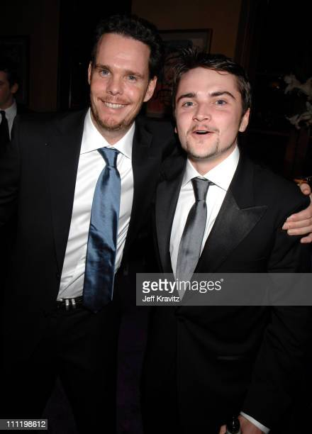 Kevin Dillon and Robert Iler during HBO Hosts a Screen Actors Guild Awards After Party at Spago in Beverly Hills, California, United States.