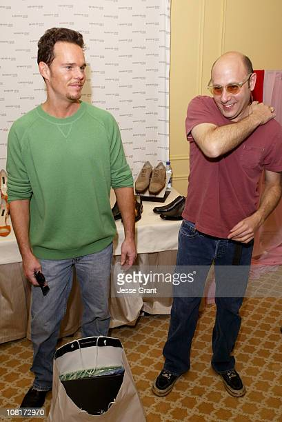 Kevin Dillon and Willie Garson during HBO Luxury Lounge - Day 2 at Peninsula Hotel in Beverly Hills, California, United States.
