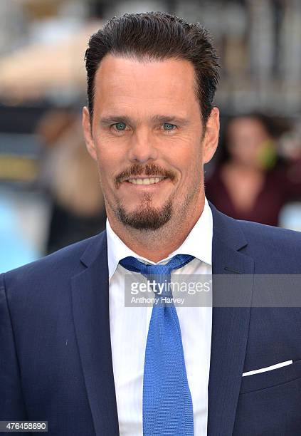 """Kevin Dillon attends the European Premiere of """"Entourage"""" at Vue West End on June 9, 2015 in London, England."""