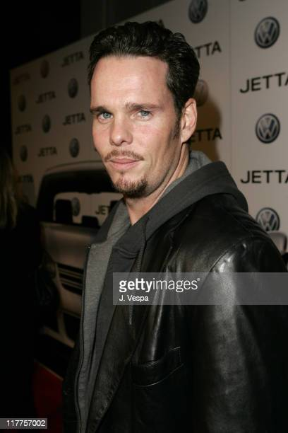 Kevin Dillon during 2005 Volkswagen Jetta Premiere Party - Red Carpet at The Lot in West Hollywood, California, United States.