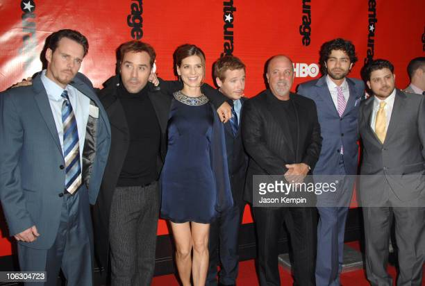 Kevin Dillon, Jeremy Piven, Perrey Reeves, Kevin Connolly, Billy Joel, Adrian Grenier and Jerry Ferrara
