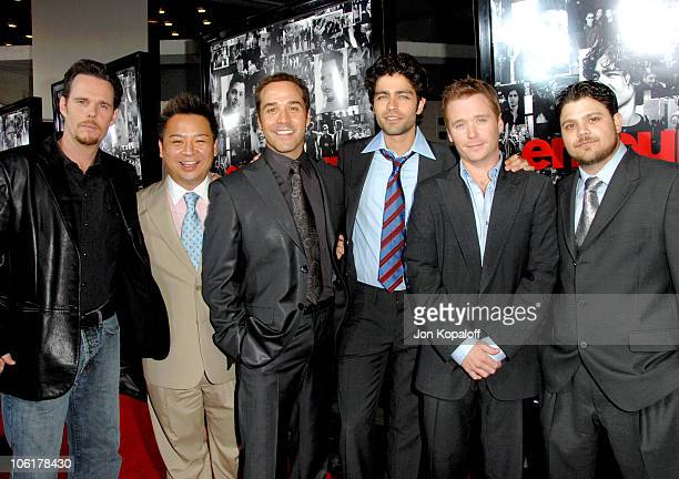 Kevin Dillon Rex Lee Jeremy Piven Adrian Grenier Kevin Connolly and Jerry Ferrara
