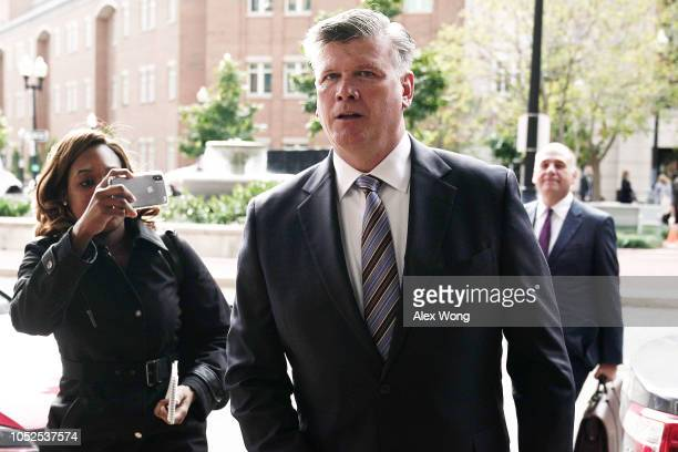 Kevin Downing and Thomas Zehnle attorneys for former Trump campaign chairman Paul Manafort leave the Albert V Bryan United States Courthouse October...
