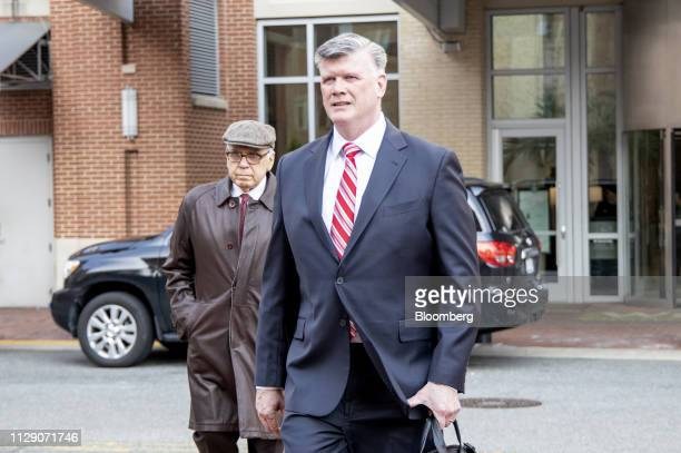 Kevin Downing lead lawyer for former Donald Trump Campaign Manager Paul Manafort arrives at the US District Court in Alexandria Virginia US on...